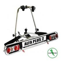 Nosič kol na tažné zařízení Alfa Plus 2 Elektro hliníkový
