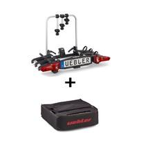 Nosič kol na tažné zařízení UEBLER i31, 3 jízdní kola + transportní taška