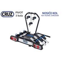 Nosič kol na tažné zařízení Cruz Pivot (2018) - 3 kola