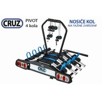 Nosič kol na tažné zařízení Cruz Pivot - 4 kola