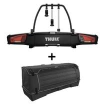 Nosič kol na tažné zařízení VeloSpace XT Thule 939 pro 3 jízdní kola plus přepravní box Thule XT938